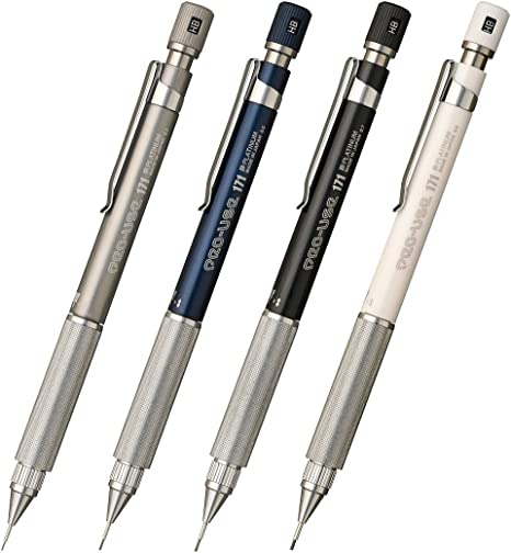 PLATINUM PRO USE 171 0.5mm Drafting Mechanical Pencil blue MSDA-1500B#56 draw