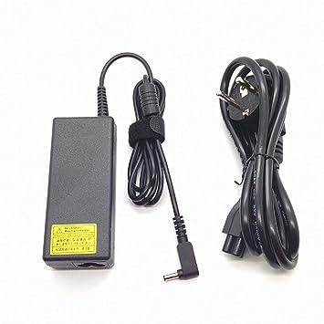 Adaptador Cargador Compatible para Portátil ASUS Comp. 65w F540LA F540L 19v 3,42a 4.0mm * 1.35mm // Protección contra Cortocircuitos, sobrecorriente y ...