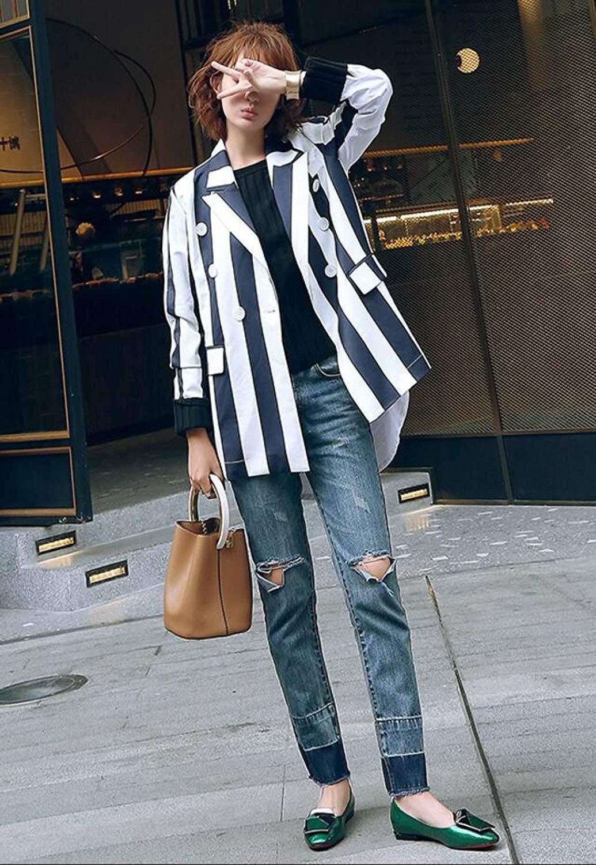 Eeayyygch Damen Leder Pumps Schuhe Square Button Button Button Casual Flache Schuhe Sandalen (Farbe   Schwarz Größe   38) 4f6139