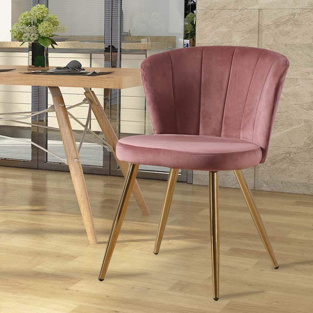 Brown Living Room Zoyo Bedroom Chairs Vanity Stool for Dressing ...