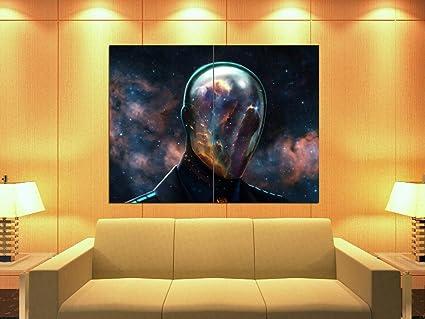 Amazon.com: xd3246 Spaceman Casco Nebulosa Fantasy Art Huge ...