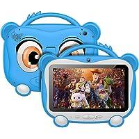 Tablet Para Niños 7 Pulgadas Tablet Infantil Android 10.0 Quad-Core Processor, 16GB ROM 128GB Expansión, HD Pantalla1024…