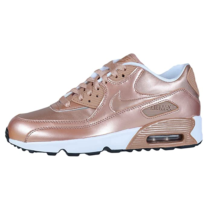 52be3f693817e Nike Air Max 90 SE LTR (GS) 859633 900 Metallic Bronze Size 7Y