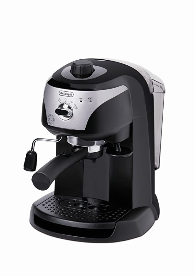Amazon.com: EC 220 CD Silber/Schwarz espressomaschine ...