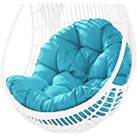 Awhao Swing Hanging Basket Seat Cushion Thicken Hanging Egg Hammock Chair Pad for Home(Cushion Only,Without Chair)
