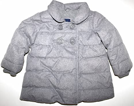 503b4d874 Amazon.com: Baby Gap Toddler Girl's 12 18 Mo. Gray Primaloft Puffer ...