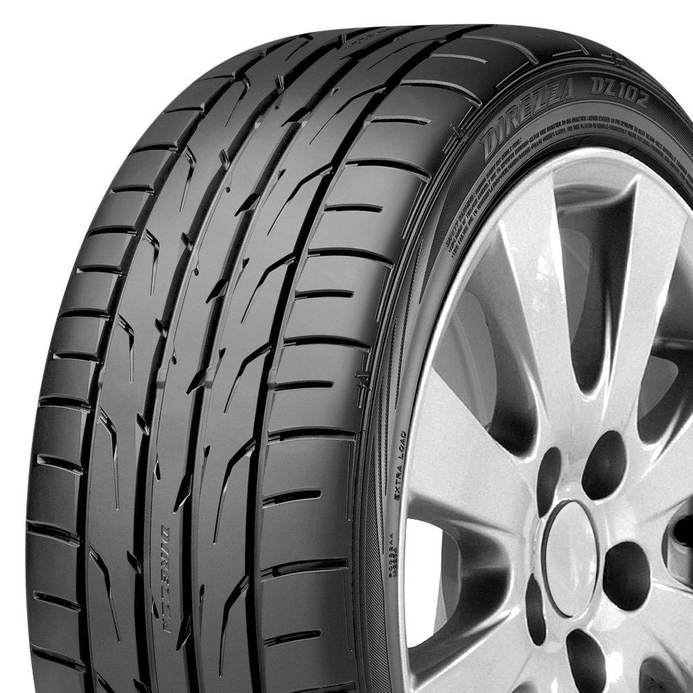 Dunlop Direzza Dz102 Review >> Dunlop Direzza Dz102 Summer Tire 205 45r17 88w Xl Amazon Ca