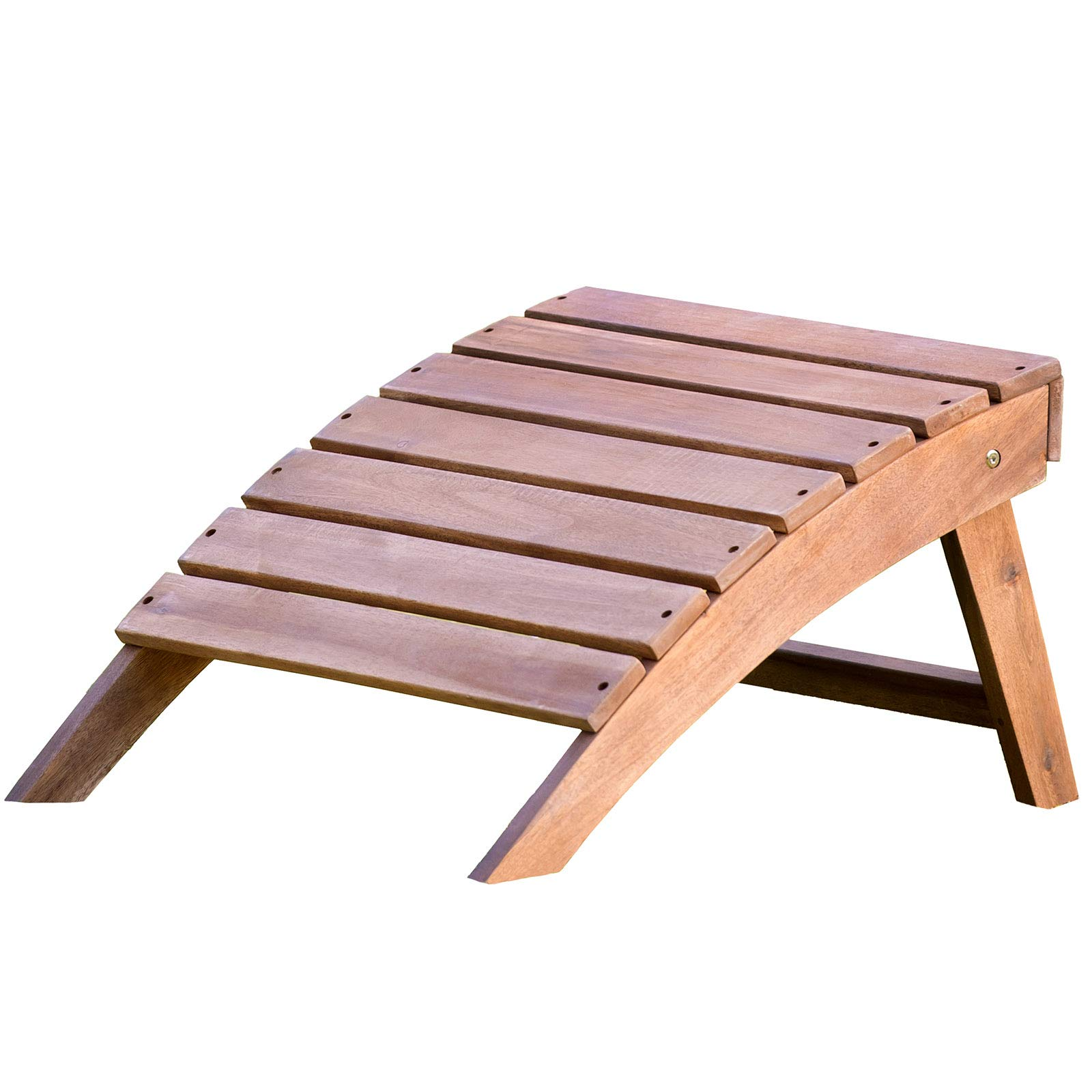 Plant Theatre Adirondack Folding Hardwood Footstool by Plant Theatre