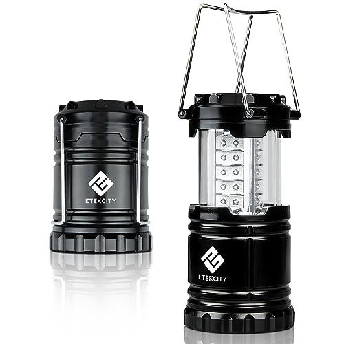 Etekcity Ultra Bright Portable LED Camping Lantern Flashlights