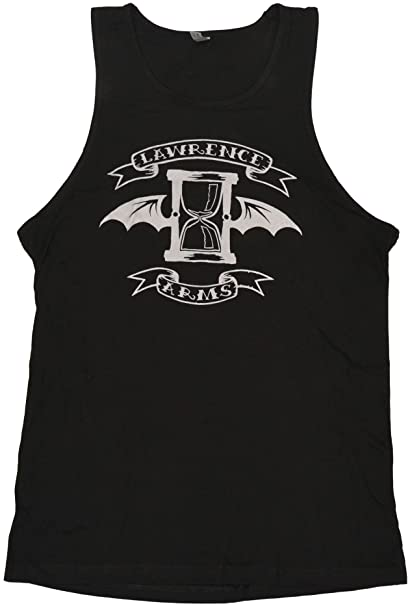 lowest price a5799 edbc8 Amazon.com: Lawrence Arms Men's Hourglass With Wings Tank ...