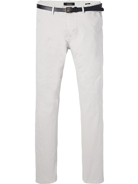 TALLA 30W / 34L. Scotch & Soda Classic Garment Dyed Chino Pant In Stretch Cotton Quality Pantalones para Hombre