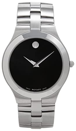 amazon com movado men s 605023 juro stainless steel watch movado movado men s 605023 juro stainless steel watch