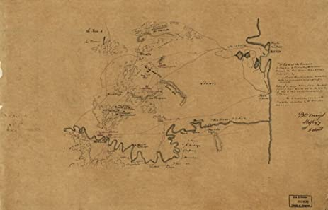 Amazon.com: Map: 1846 Plan of the ground situated to the north of ...