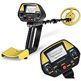 INTEY Détecteur de Métaux Metal Detector Imperméable Kit de Démarrage avec Mode Pinpointer & Discrimination (Gratuit: Pelle Pliante Multifonctionnelle)
