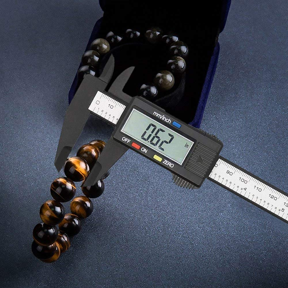 Electronic Caliper with 6 inch//150mm Vernier Caliper with LCD Micrometer
