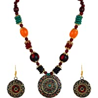 YouBella Afghani Tribal Jewellery Set for Women (Multicolour)(MV-FS6S-86K3)