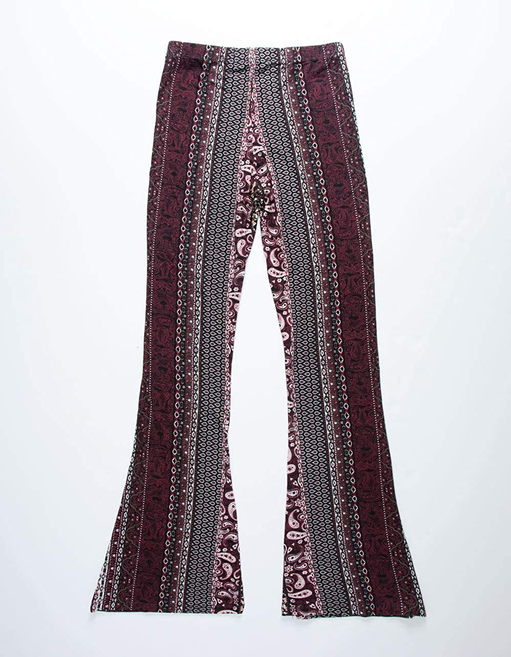 WHITE FAWN Paisley Girls Flare Pants