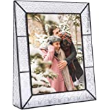 J Devlin Pic 126 Series Clear Vintage Stained Glass Picture Frame Assorted Sizes (8x10 Vertical)