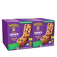 Deals on 12-Pack 6-Ct Annies Organic Chewy Chocolate Chip Granola Bars