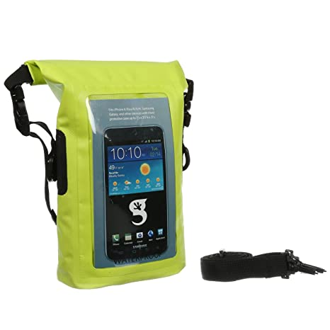 741546ecb6 Amazon.com   geckobrands Waterproof Phone Tote   Sports   Outdoors