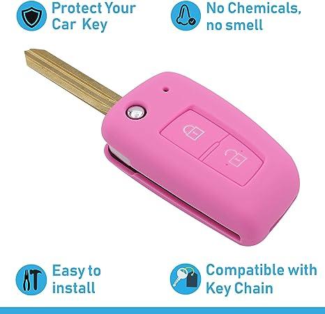 Asarah Premium Silikon Schlüsselhülle Geeignet Für Elektronik