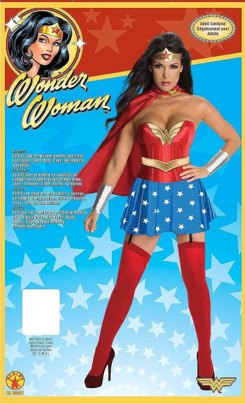 7070cd68d82 awesome amazoncom secret wishes dc comics wonder woman corset costume  clothing with dguisement dora l adulte