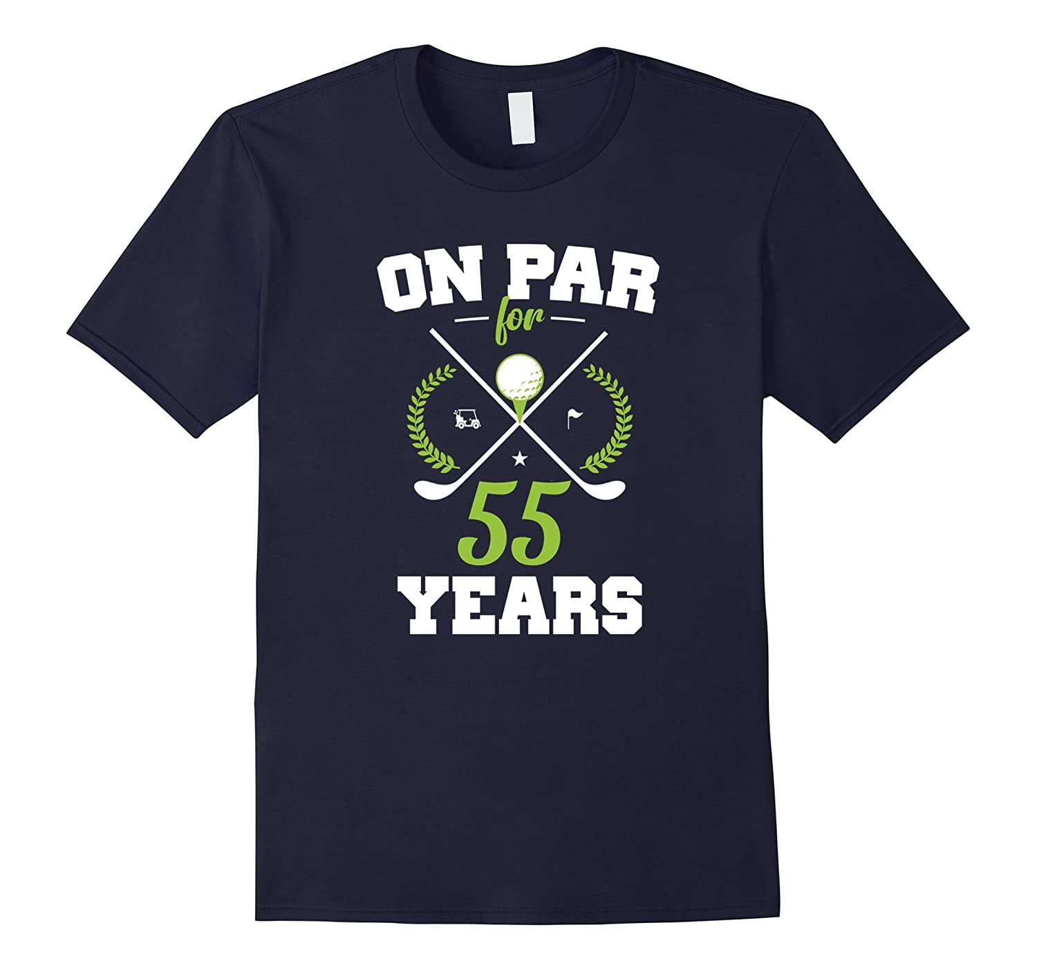 55 Years Old Happy 55th Birthday for Golfers-4LVS