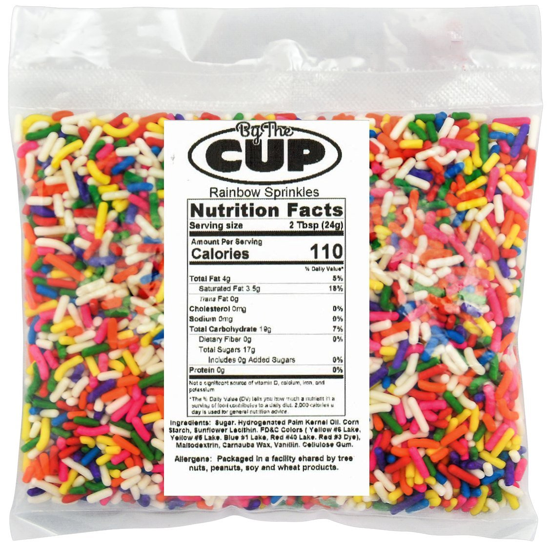 Dole Soft Serve Mix - Mango Dole Whip, Lactose-Free Soft Serve Ice Cream Mix, 4.50 Pound Bag - with By The Cup Rainbow Sprinkles by By The Cup (Image #2)