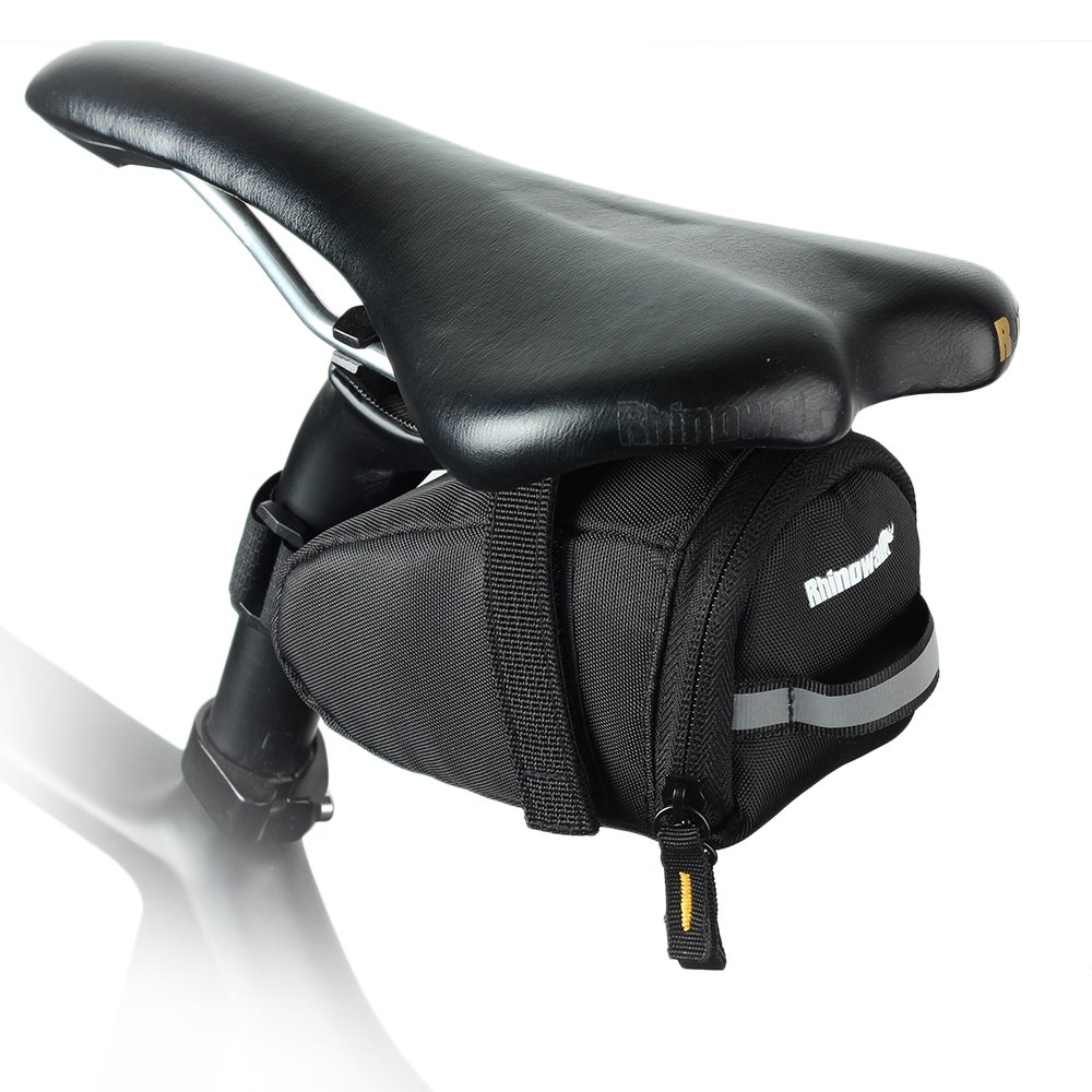 Waterproof Bicycle Saddle Bag Bike Bag Under seat Bag Rainproof Mountain Road Bike Seat Bag Bicycle Bag Professional Cycling Accessories Rhinowalk