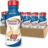 Premier Protein 30g Protein Shake, Vanilla, 11.5 Fl Oz Shake, (Pack of 12)