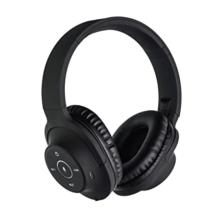 f07b25471fa9bb Buy SoundLogic AER Voice Assistant Wireless Stereo Bluetooth Headphone  (Black, Over The Ear) Online at Low Prices in India - Amazon.in