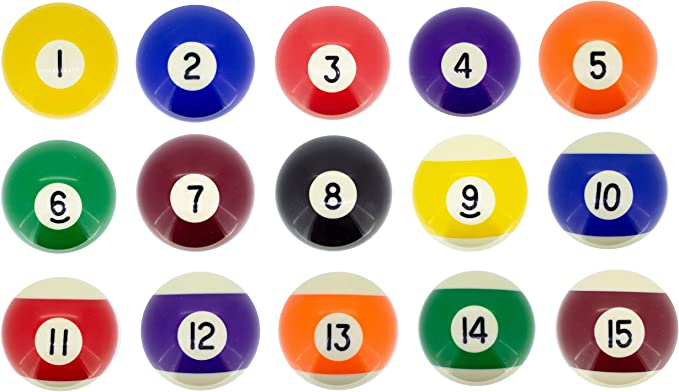 Premiergames - Bolas de billar (57,2 mm), Nr. 7, 57,2mm: Amazon.es ...