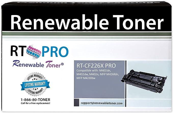 Laserjet Pro MFP M426FDN M402DW 26X On-Site Laser Compatible MICR Replacement for HP CF226X Black M402DN M426FDW M402D Works with: Laserjet Pro M402