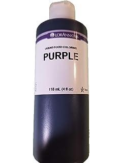 Amazon.com: Liquid Food Color 1oz-Purple: Arts, Crafts & Sewing