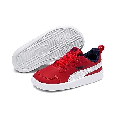 Puma Courtflex PS, Sneakers Basses Mixte Enfant