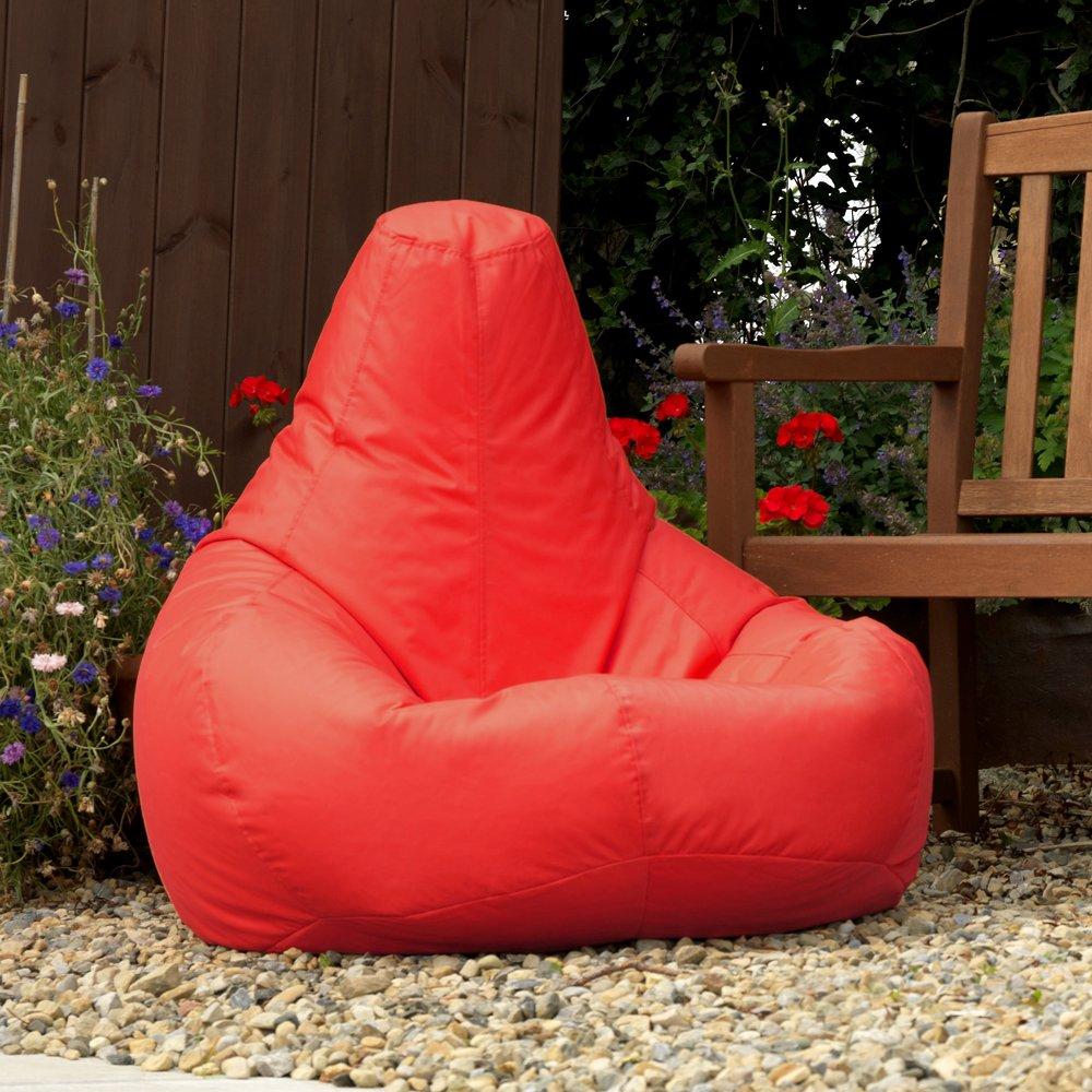 Bean Bag Bazaar Designer Recliner Gaming Bean Bag RED   Waterproof Indoor U0026 Outdoor  Beanbag Chair: Amazon.co.uk: Kitchen U0026 Home