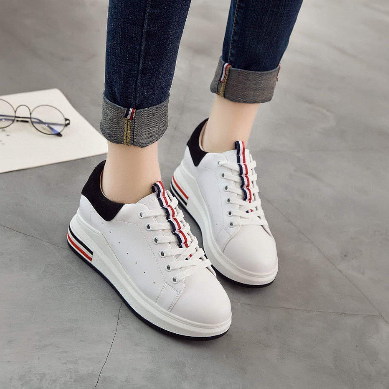 Oudan Schuhe Schuhe Schuhe Schuhe Casual Schuhe Damen Schuhe Schuhe Schuhe Sportschuhe Sportschuhe (Farbe   Grün, Größe   36) 993f7b