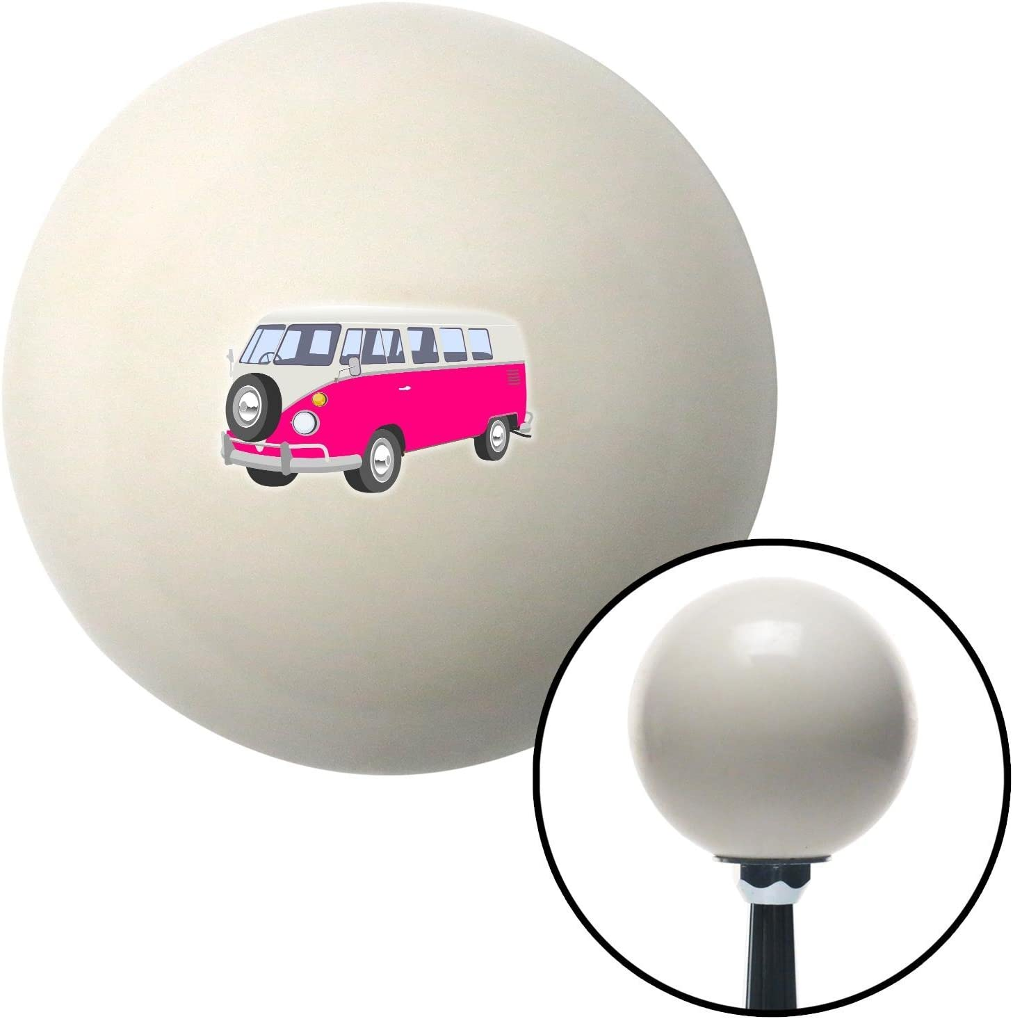 Pink Camper American Shifter 77356 Ivory Shift Knob with M16 x 1.5 Insert