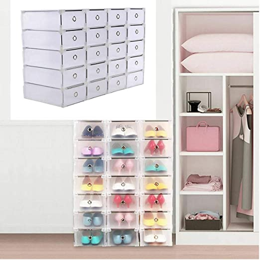 Iglobalbuy Shoe Storage; 20 Cajas de Almacenaje ; Caja de Zapatos ...
