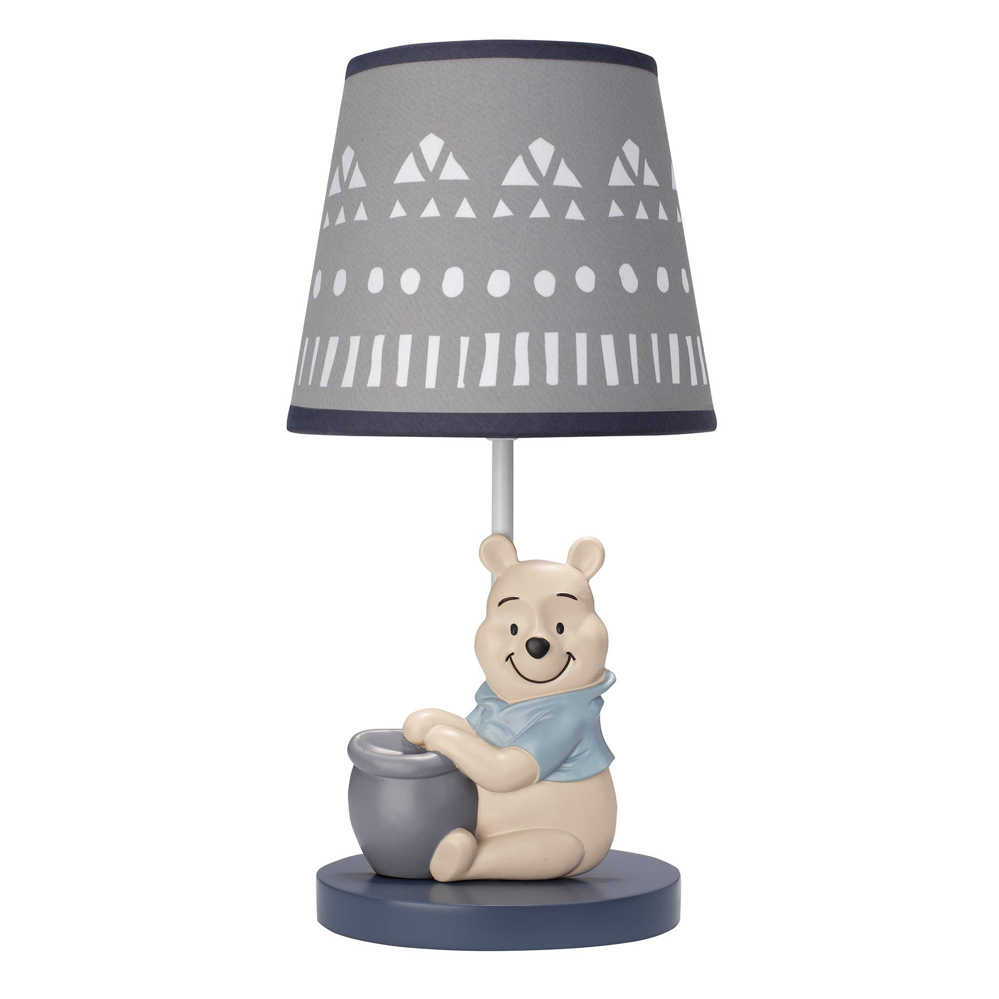Disney Baby Forever Pooh Lamp with Shade & Bulb by Lambs & Ivy by Lambs & Ivy