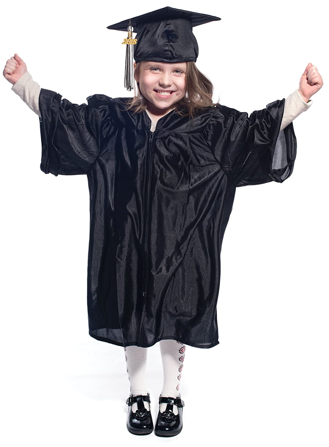 Amazon.com: Preschool and Kindergarten Graduation Cap and Gown ...