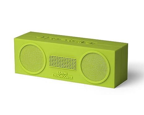 Lexon la101u7 Altavoz Bluetooth Recargable para teléfono/Ordenador portátil/Tablet Verde Oscuro