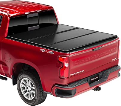 Amazon Com Rugged Liner E Series Hard Folding Truck Bed Tonneau Cover Eh C6719 Fits 2019 2021 New Body Style Gmc Chevy Sierra Silverado 6 7 Bed 79 4 Automotive