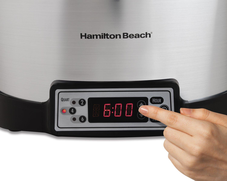 Hamilton Beach 33642 Programmable Right Size Slow Cooker, Multi-Quart by Hamilton Beach (Image #2)