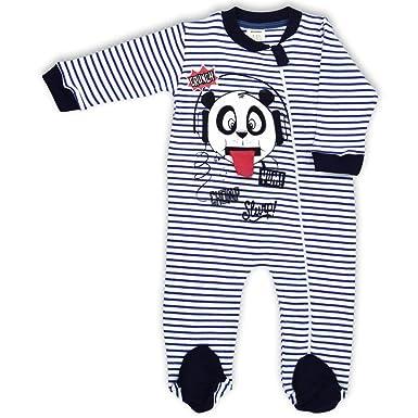 0bc2029a4 Amazon.com  Baby Sleeper Pajamas Zip Footed Boy and Girl Organic ...