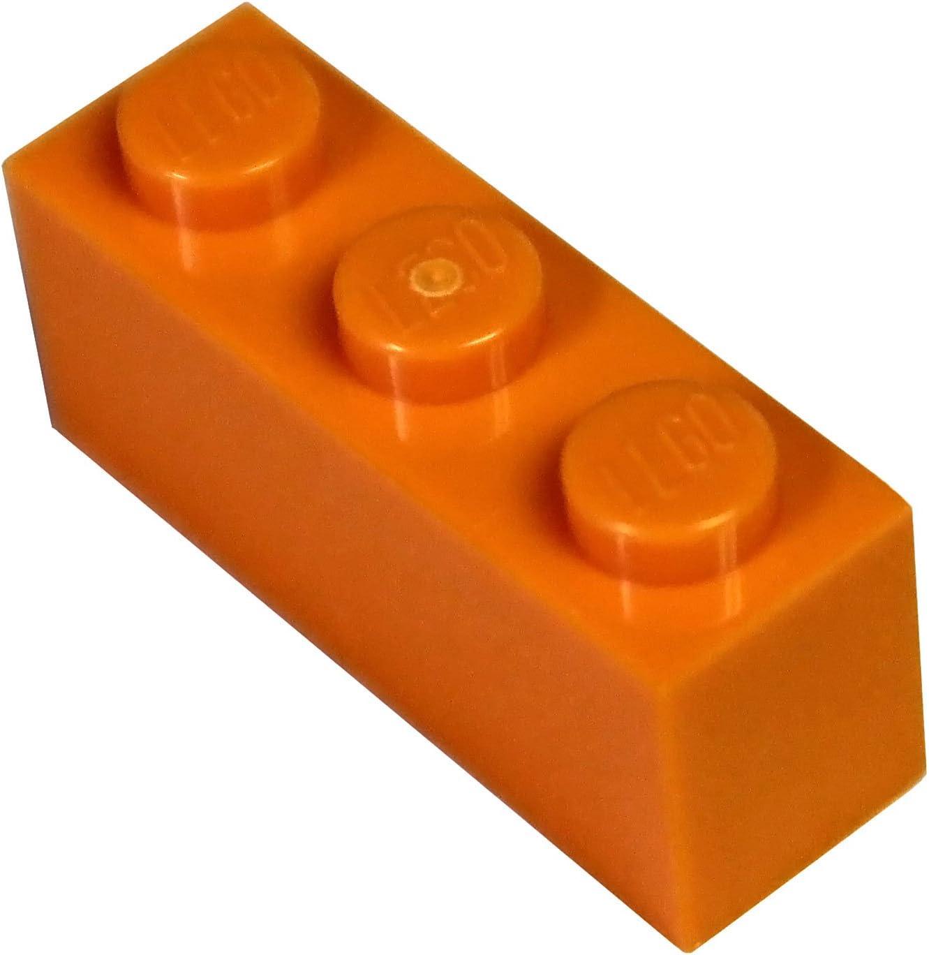 LEGO Parts and Pieces: Orange (Bright Orange) 1x3 Brick x20