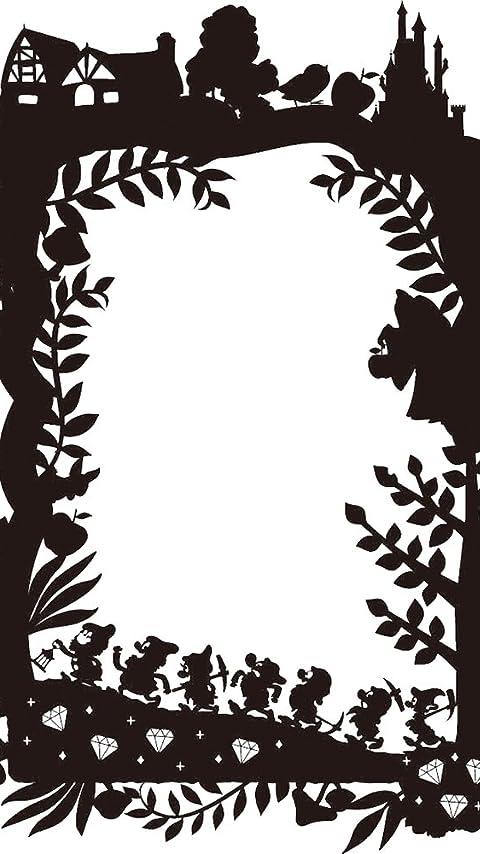 ディズニー 白雪姫 影絵 XFVGA(480×854)壁紙画像