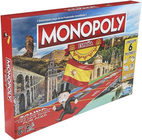 Monopoly - España (Hasbro E1654105): Amazon.es: Juguetes y juegos