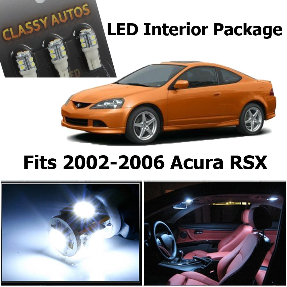 acura rsx 2006 interior. amazoncom classy autos acura rsx white interior led package 6 pieces automotive rsx 2006 u