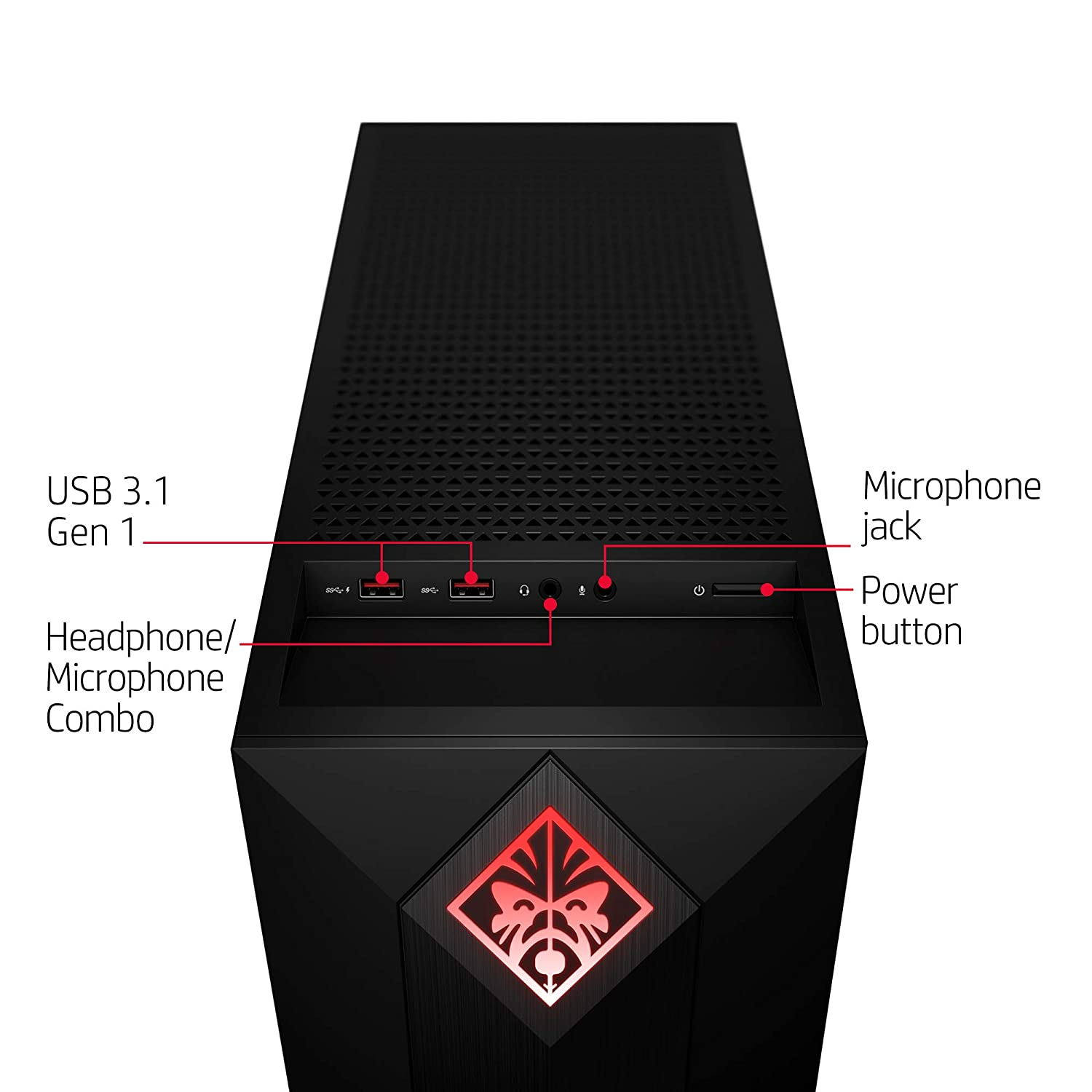 OMEN by HP Obelisk Gaming Desktop Computer, Intel Core i5-8400 Processor,  NVIDIA GeForce GTX 1060 6 GB, HyperX 8 GB RAM, 256 GB SSD, VR Ready,  Windows